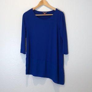 Beautiful Blue Vince Camuto Asymmetrical Shirt M